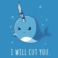 Knifey the Narwhal
