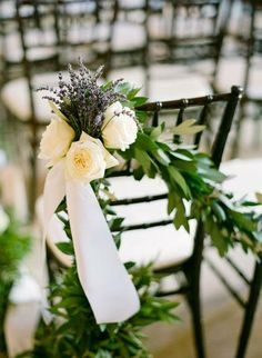 10 tips en decoración de sillas de boda [Fotos]