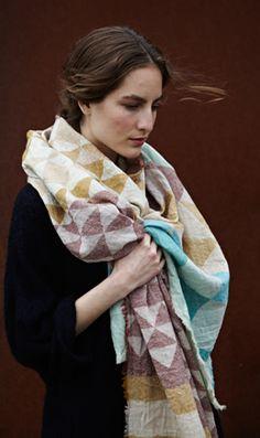 Giza Wool Scarf - Plümo Ltd ($100-200) - Svpply