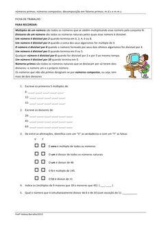 17 Ideas De Multiplos Y Divisores Multiplos Y Divisores Divisores Números Primos