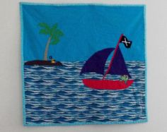 Pirate Ship Quilt