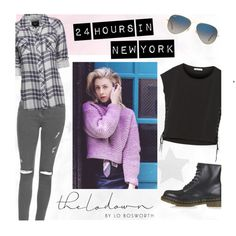 Show fashion expert Lo Bosworth what you'd wear during a one-day, whirlwind trip to NYC and you could win a $200 gift card: http://polyv.re/24HrsinNYC