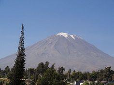 Volcan Misti à Arequipa (Perou)