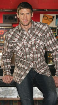 Men's Plaid Shirt with Piping by Southern Thread