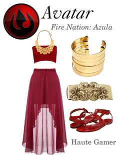 Avatar Fire Nation Azula imma wear this!