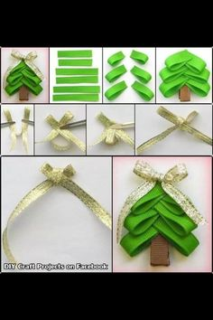 Cute Christmas Idea>> on a headband for a little girl?