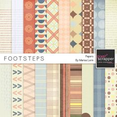 Footsteps Papers Kit*