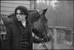 Он держал лошадей использовали в фильме messicamadness: Лиам Нисон, Брэд Питт и Дэниел Дэй-Льюис были рассматриваться на роль Ichabod крана.