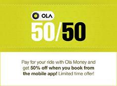 OLA 50/50 offer