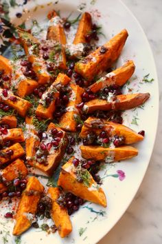 """The Classy Way to Serve Sweet Potato """"Fries"""" at Thanksgiving"""
