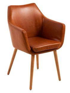 Für eine stilbewusste Ausgestaltung Ihrer Wohnräume zeigt sich der schicke Armlehnstuhl AMOS von LOFT als geradezu prädestinierte Wahl. Faux Leather Dining Chairs, Upholstered Dining Chairs, Dining Chair Set, Australia Living, Chairs For Sale, Wooden Flooring, Armchair, Upholstery, Loft