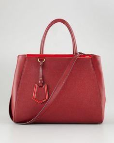 3dcb294c613b 2Jours Calfskin Tote Bag by Fendi at Neiman Marcus. Fendi Tote