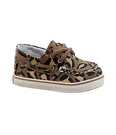 so cute! Sperry Top-Sider Infant Girls Bahama Crib Boat Shoes | Dillards.com