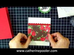 Mass Producing Christmas Cards with Word Play #5 - YouTube