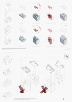 Architecture Drawings, Architecture Design, Line Drawing, Thesis, Recycling, Presentation, Boards, Diagram, Study