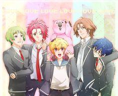 cute high earth defense club LOVE!