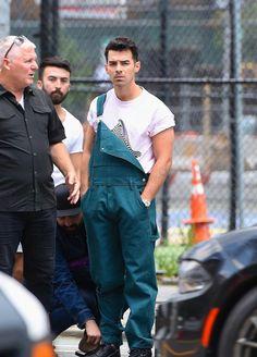 Joe Jonas, Jonas Brothers, Overalls, Normcore, Pants, Joseph, Style, Fashion, Trouser Pants