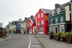 Dingle Ireland. I walked this road over 100 times, I miss it