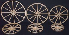 Amish Handcrafted Small Cart or Wagon Wheels available in 10 Inch, 12 Inch, 14 Inch, 16 Inch, 18 Inch or 20 Inch