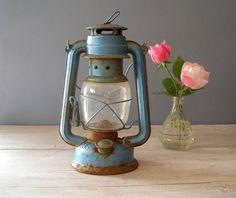 Vintage Lantern Lamp Sun Way Railroad lamp by MeshuMaSH on Etsy, $38.00