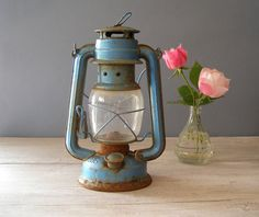 Reserved For Ann Vintage Hurricane Lamp Accurate Casting