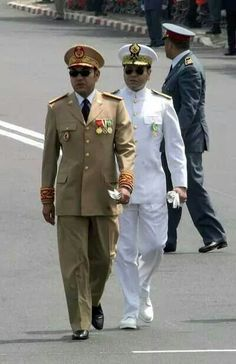 King of Morocco SM Mohamed 6...and Prince My Rachid: