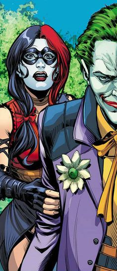 Injustice Joker and Harley Quinn by Marco Santucci