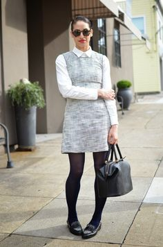 Allergic to Vanilla: stripes & tweed