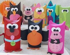 Toilet Paper Roll Crafts - Get creative! These toilet paper roll crafts are a great way to reuse these often forgotten paper products. You can use toilet paper rolls for anything! creative DIY toilet paper roll crafts are fun and easy to make. Animal Crafts For Kids, Diy For Kids, Kids Crafts, Easy Crafts, Craft Projects, Arts And Crafts, Crafts Cheap, Craft Ideas, Toilet Tube