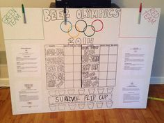 Beer Olympics - simple way to manage teams w/no brackets required. Perfect when you don't know the exact number of attendees.
