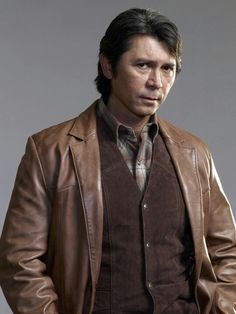 """Lou Diamond Phillips Longmire. Everytime I see him I think """" What's cal-coolis?!"""" LOL Stand & Deliver is classic."""