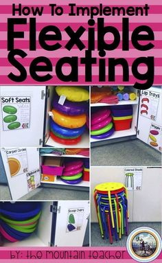 How to implement flexible seating in your elementary classroom - partially flexible seating - Flexible seating that works!
