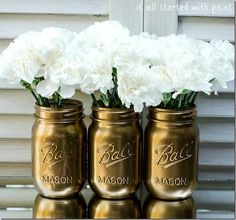 Mason jar crafts are so popular these days - here's a collection of ideas so you know what to do with them. There are tons of possibilities!
