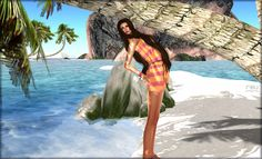 https://flic.kr/p/wNttc4 | CODE 0711 - Sol, arena y mar 04 | Jumper Lluvia 04 => marketplace.secondlife.com/p/Code-0711-Romper-Lluvia-04/7... Pose 17 => marketplace.secondlife.com/p/pose17/7454600