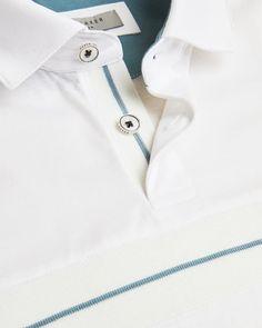 IKKS Junior Jungen Polo Blanc Logo IKKS Poloshirt