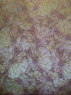 Revestimiento tejido para pared. Colección Botanical engineering de Vescom.  detalle