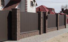 Front Wall Design, House Fence Design, Exterior Wall Design, Modern Fence Design, Balcony Railing Design, Best Modern House Design, Door Gate Design, Compound Wall Design, Backyard Buildings