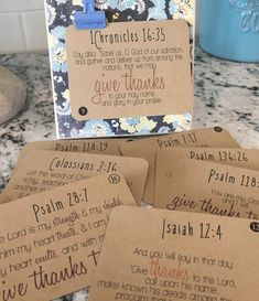thanksgiving gifts for volunteers ! erntedankgeschenke für freiwillige thanksgiving gifts for volunteers ! For Family thanksgiving gift. For Teachers thanksgiving gift. For Boyfriend thanksgiving gift Thankful Scripture, Scripture Cards, Scripture Study, Bible Verses, Printable Scripture, Prayer Cards, Thankful Tree, Thankful For Family, Scripture Memorization