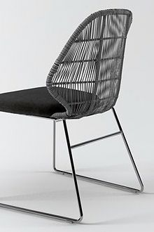 Crinoline chair by Patricia Urquiola for B&B Italia Outdoor: http://www.bebitalia.com/fr/produits/chaises-crinoline-263.html