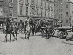 British mounted troops Dublin 1916