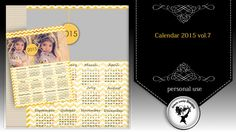 Calendar 2015 vol.7 by Black Lady Designs