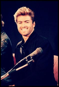 George Michael- Those dimples!