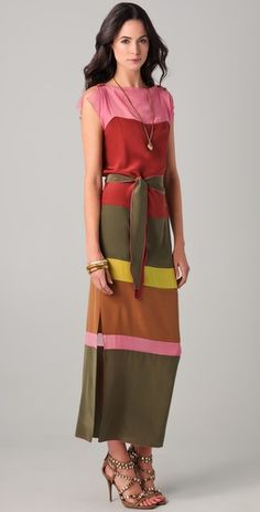 #I love these colors together  Maxi Dresses #2dayslook #MaxiDresses #susan257892  #jamesfaith712  www.2dayslook.com