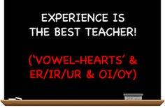"Secret Stories ""Vowel-Heart"" trick for easy spelling! Love this!"