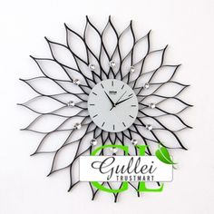 large contemporary wall clock clocks gallery