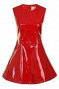 Lavish Alice Red PVC Dress