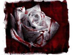 Bloody Rose Ink Red