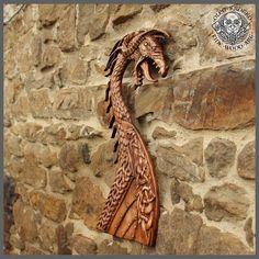 Drakar Dragon Viking Boat Odin Valhalla Home Decor Norse Thor Wood Picture Pagan Gods Carving Heathen Asatru Celtic Norse Rune Wall Hanging Viking Dragon, Viking Ship, Viking Life, Viking Art, Vikings, Viking Longboat, Norse Runes, Viking Designs, Pagan Gods