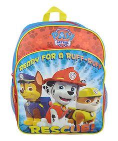 Look at this #zulilyfind! PAW Patrol 'Ruff Ruff Rescue' backpack #zulilyfinds  @kalarazook