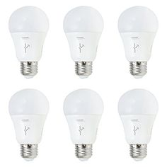 Sylvania Lightify 60Watt A19 Tunable White Smart Home LED Light Bulb 6 Pack